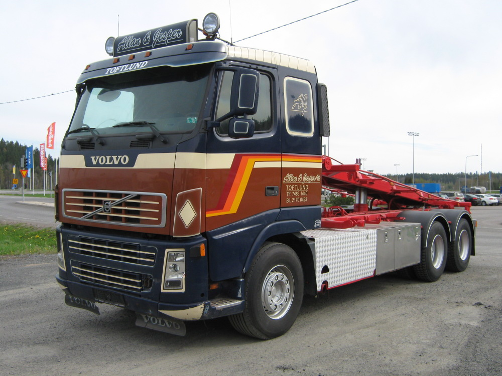 VOLVO FH12 6×4